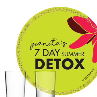 juanita's Summer Detox Badge