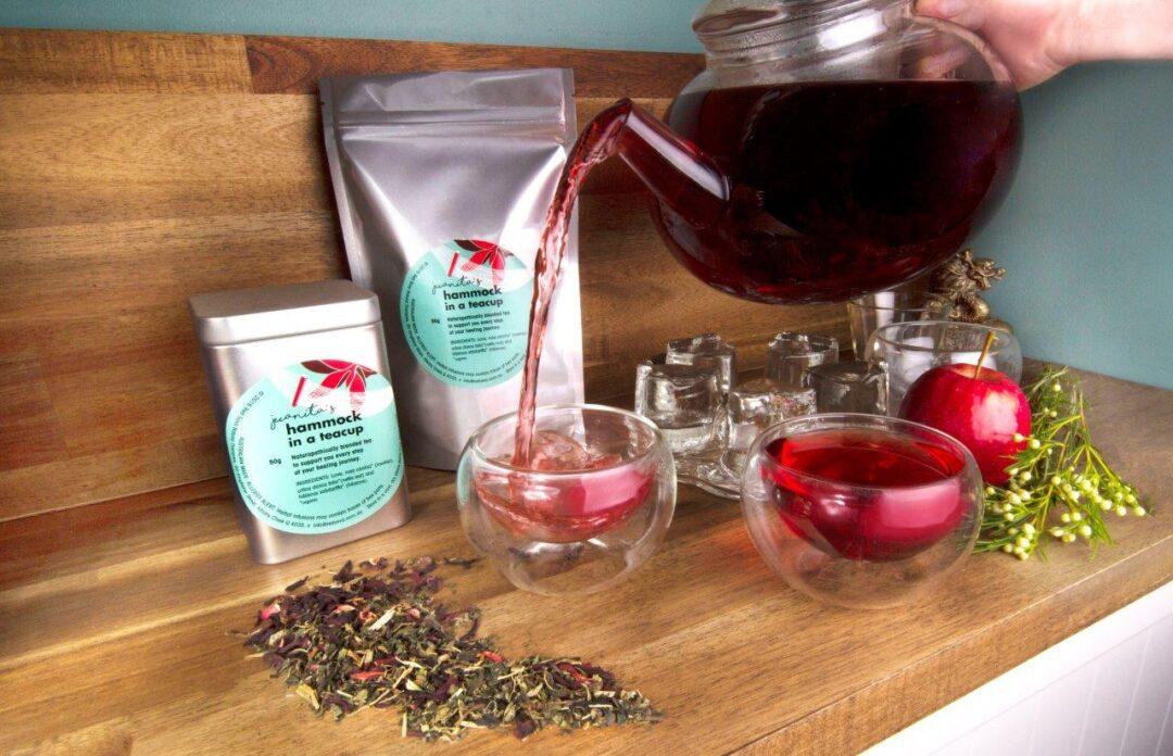 Naturopathically blended organic teas
