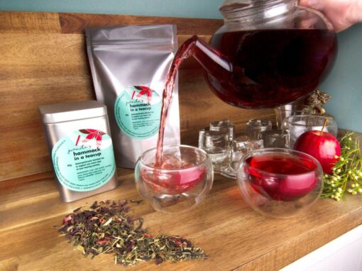 Naturopathically blended organic teas